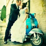 Vespa Wedding - SJ Harmon Photography